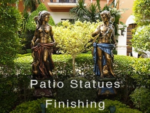 Patio Statues Finishes